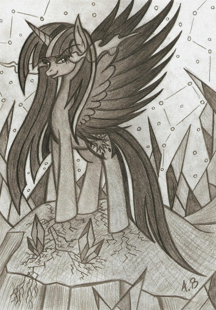 #63 Request - Corrupted Twilight Sparkle by Anzu18