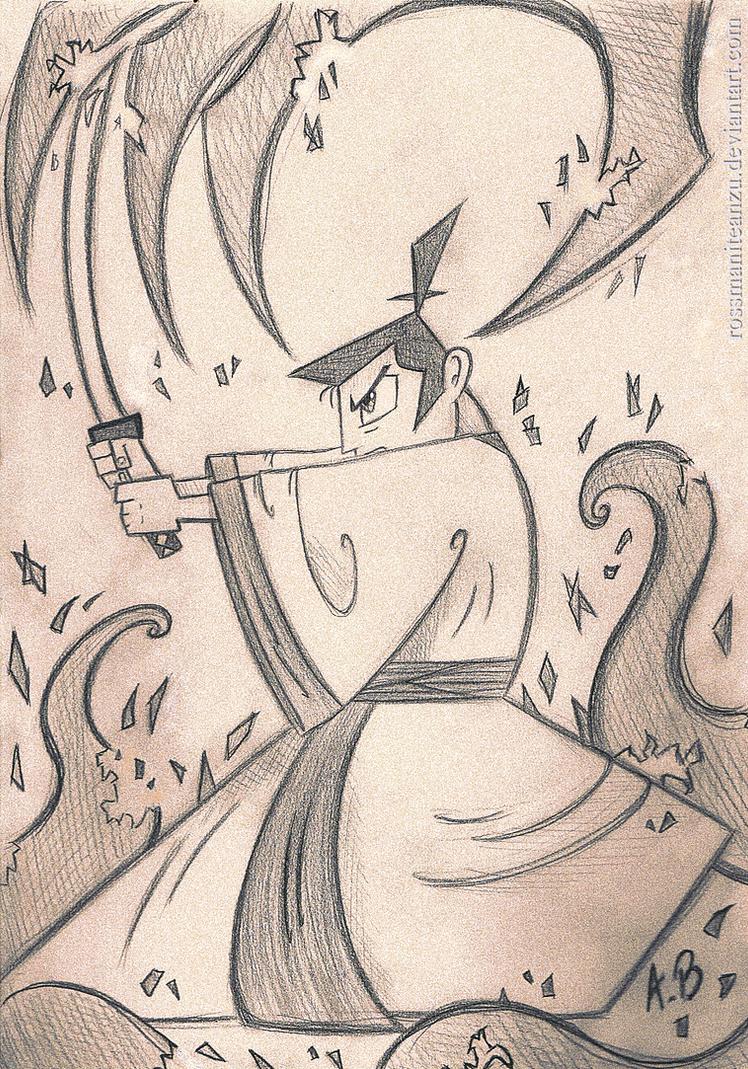 Samurai Jack by RossmaniteAnzu