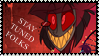 Alastor Stamp by RossmaniteAnzu