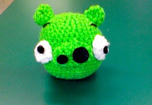 Cerdo Angry Birds Amigurumi : Angry Birds Pig Amigurumi by Japychan on DeviantArt