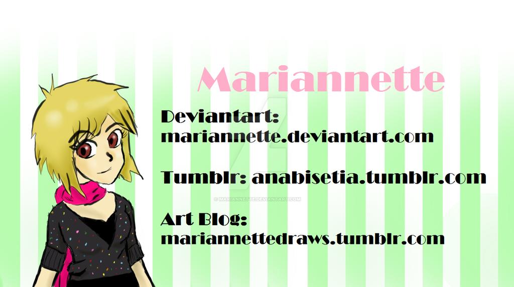 Mariannette's Profile Picture