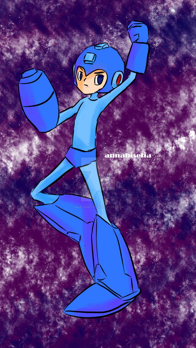 Charathon Mega Man by Mariannette