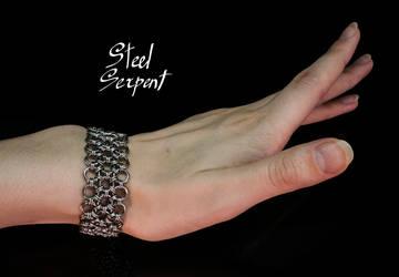 'Japanese',3col (on hand) Stainless Steel Bracelet