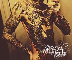 tattoo Mitch by Poochaco