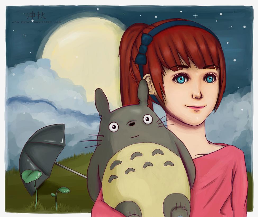My Friend Totoro by 6oo