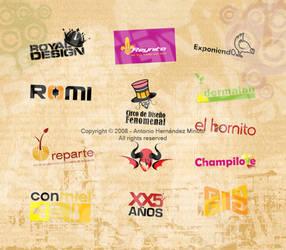 Logos by Antoinex
