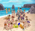 Cartoon M.I.L.F. Island