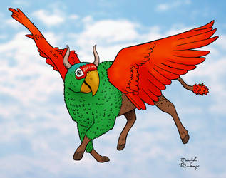 Parrot-Ox by rocketdave