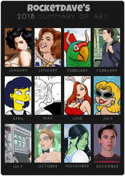 2018 Summary of Art by rocketdave