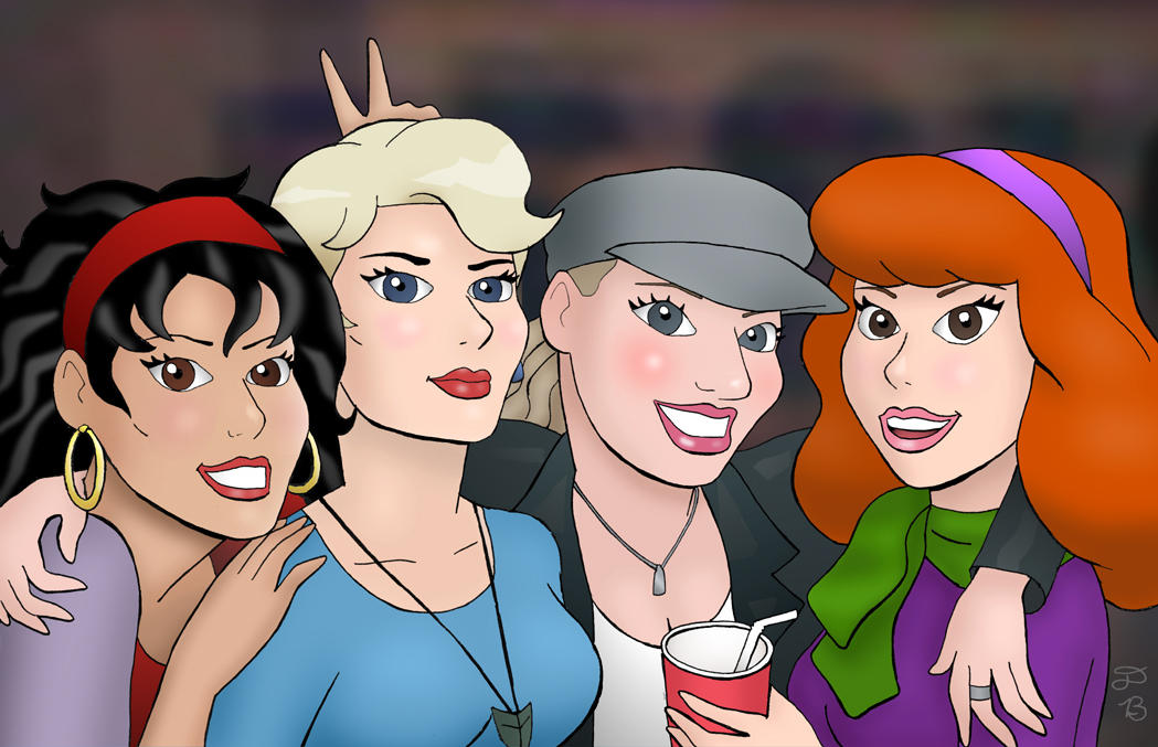 Women of Zombie Island by rocketdave