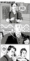 Torchwood has Mycroft on speed dial by awabubbles