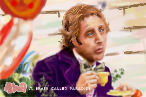 Homage to Gene Wilder by awabubbles