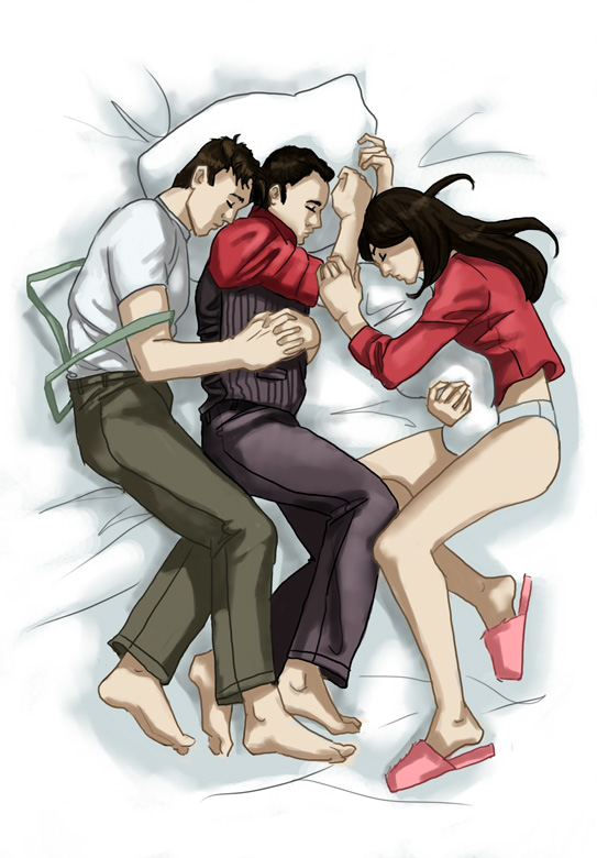 Team Torchwood Takes a Nap by awabubbles