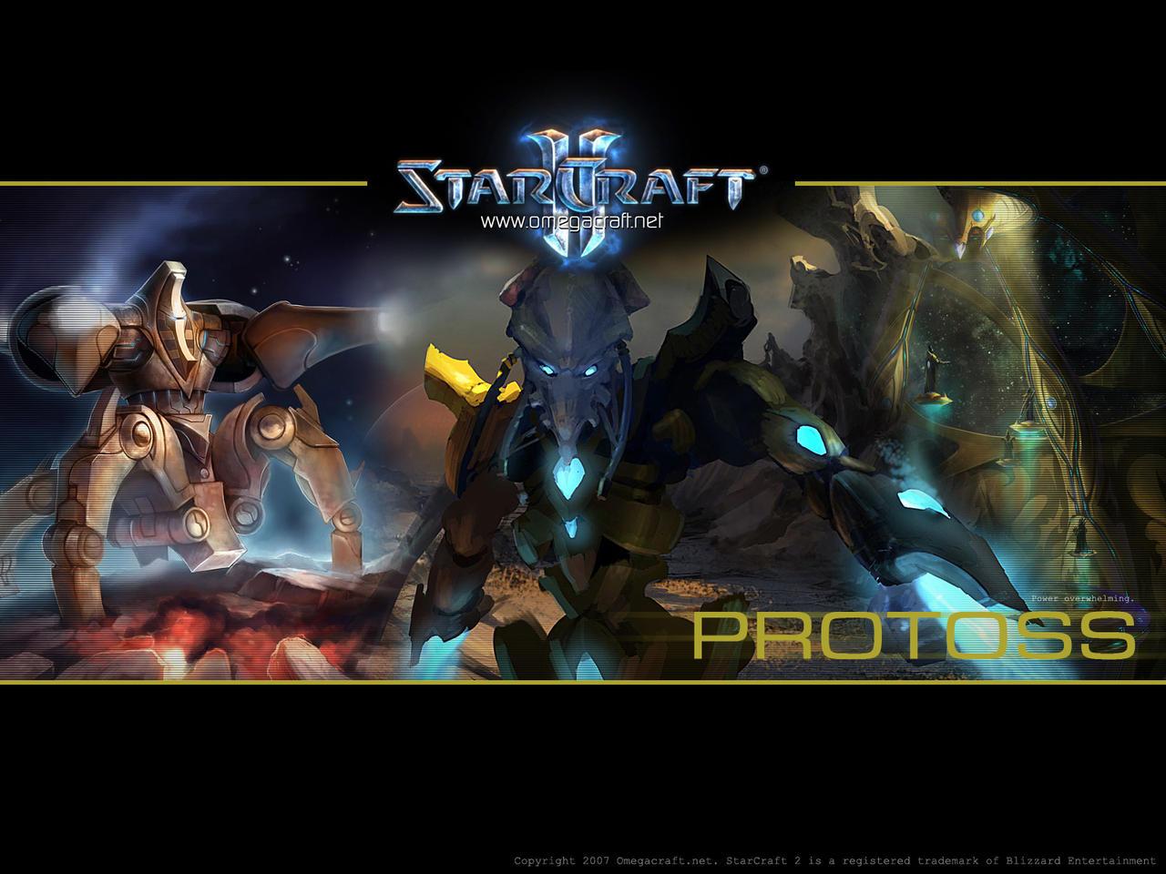 Starcraft 2 protoss wallpaper by maul on deviantart - Starcraft 2 wallpaper art ...