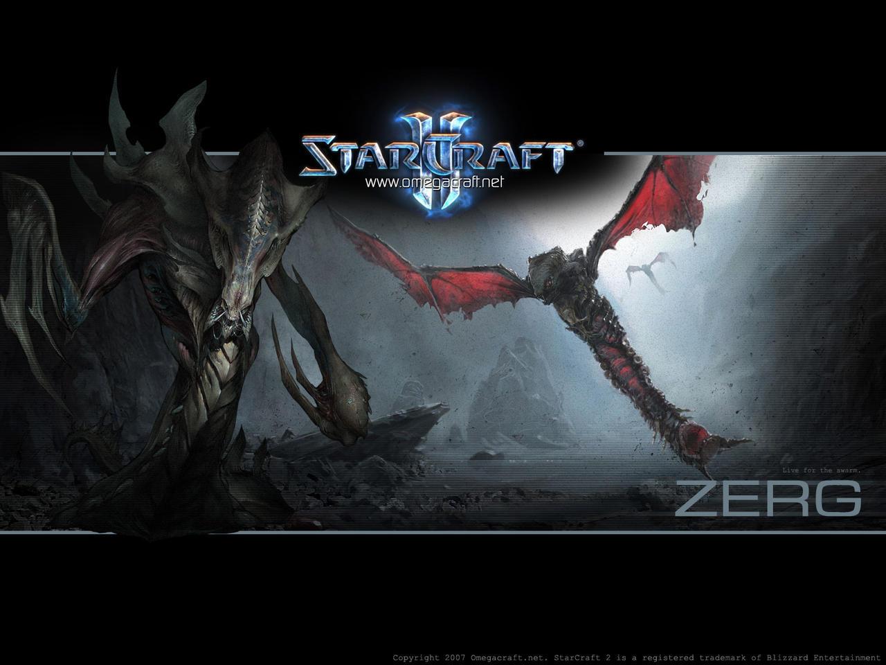 Starcraft 2 Zerg Wallpaper by maul on DeviantArt