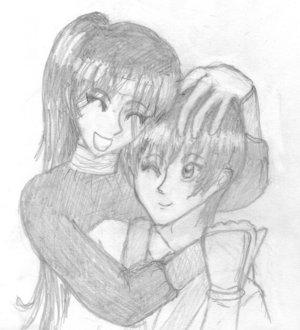 Huggles by elvengirl16 by kenshin-fc