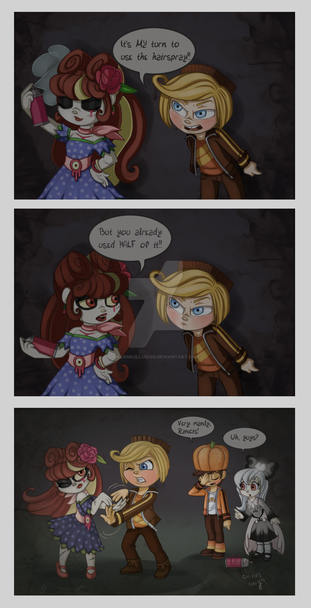 hairspray sissy fight by karmicillusion on deviantart