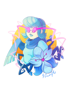 Blue Orchid Girl