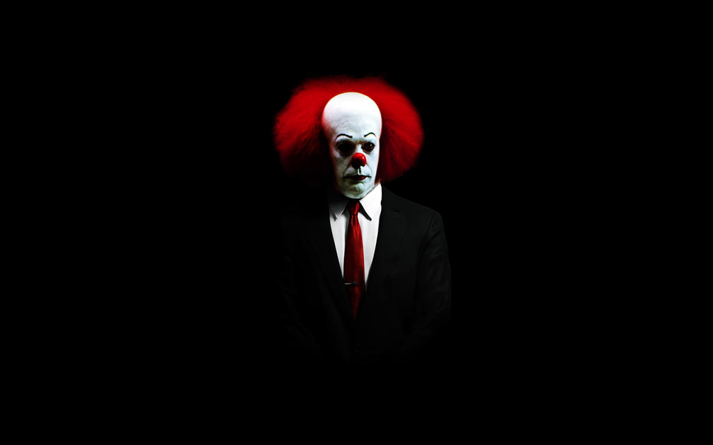 Pennywise The Clown 1990wallpaper: Pennywise In Suit By Shift2d On DeviantArt