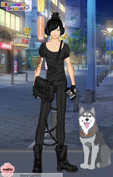 Male Street Fashion Dress Up Game 1 By Selenaparthenopaeus On Deviantart