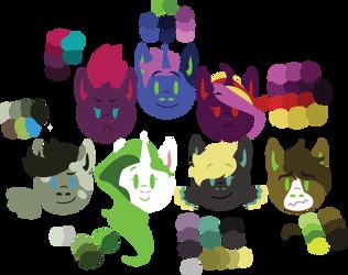 Pony Head Icons (2018) by songbirdDEIGE