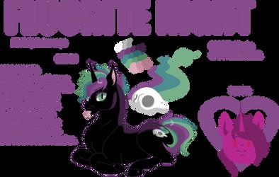 Fluorite Night- Character Sheet (2018) by songbirdDEIGE