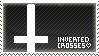 Inverted Crosses stamp by eyesockets