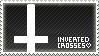 Inverted Crosses stamp by eyesockets