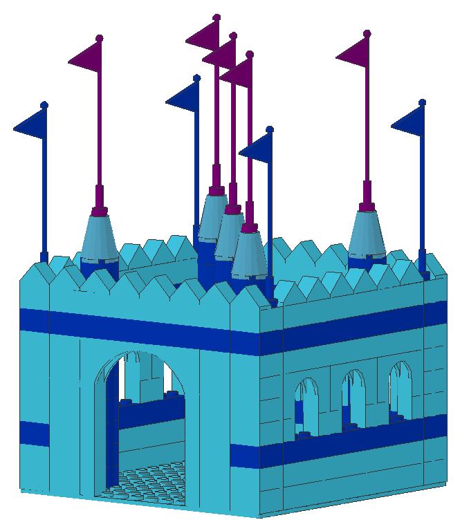 Lego Equestria Girls: Sonata's Medieval Fort by mythrilmoth