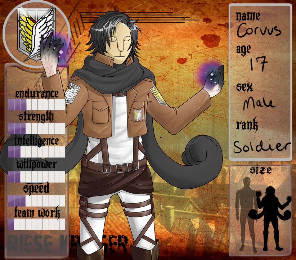 RK:: Corvus by SirRaptor