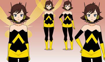 Janet Van Dyne (The Wasp) - Kisekae Model 1