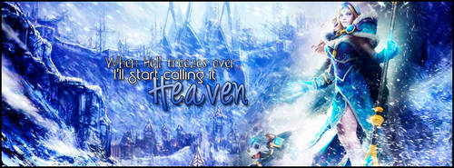 Crystal Maiden Frost Avalanche FB Cover (Request) by Splurkey