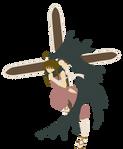 Kaede Nagase (Negima! Magister Negi Magi) by chachaXevaXjeffrey