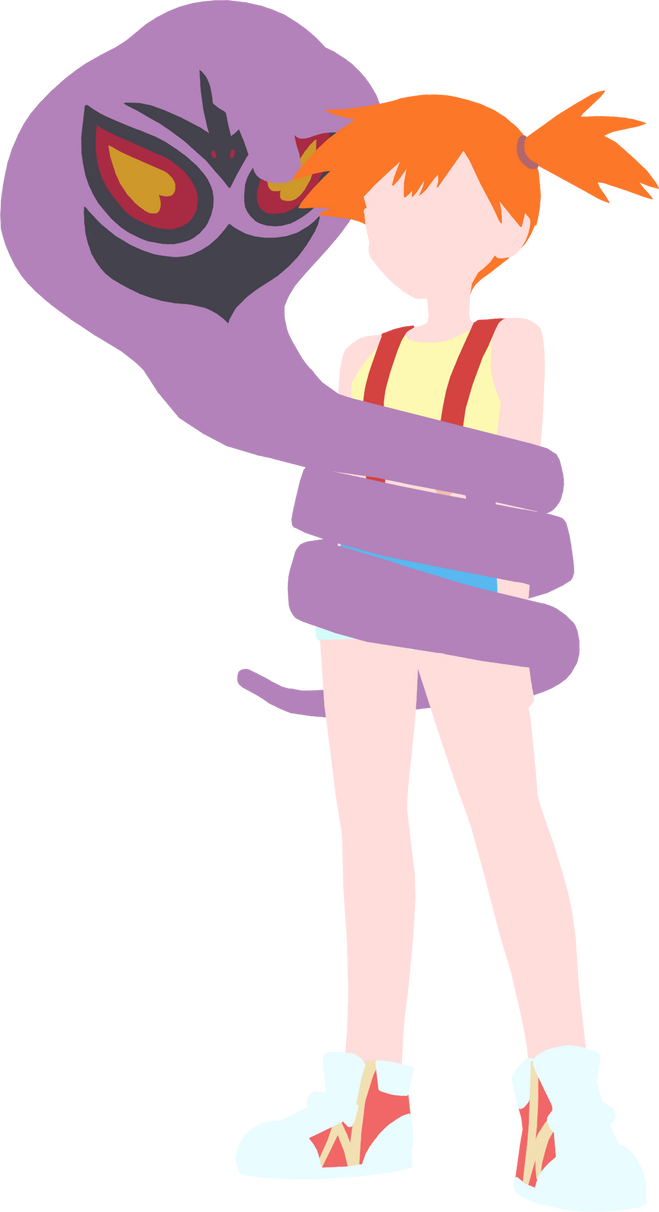 [Request] Arbok Wrapping Misty (Pokemon) by chachaXevaXjeffrey