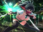 Asuka Strikes True Kunoichi