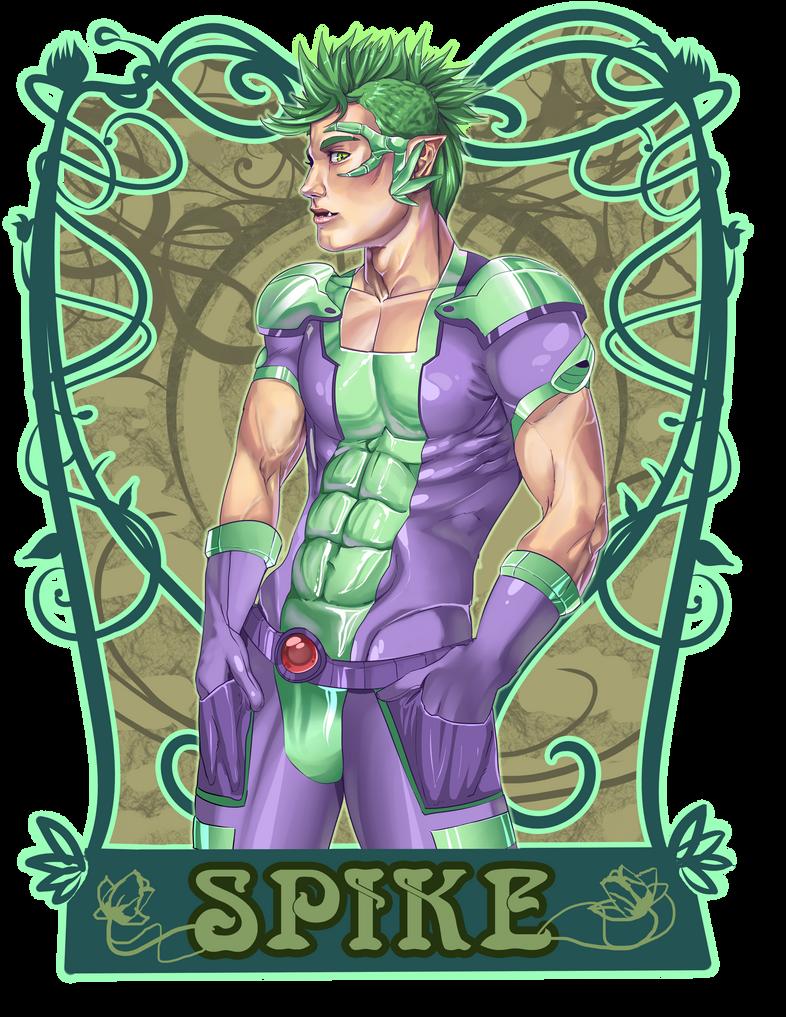 Superhero Spike by milkydayy