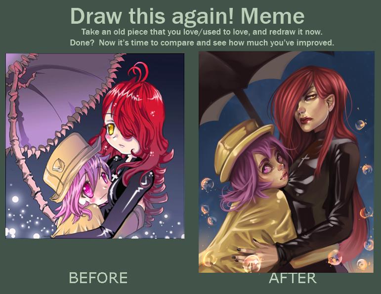 draw this again meme by milkydayy