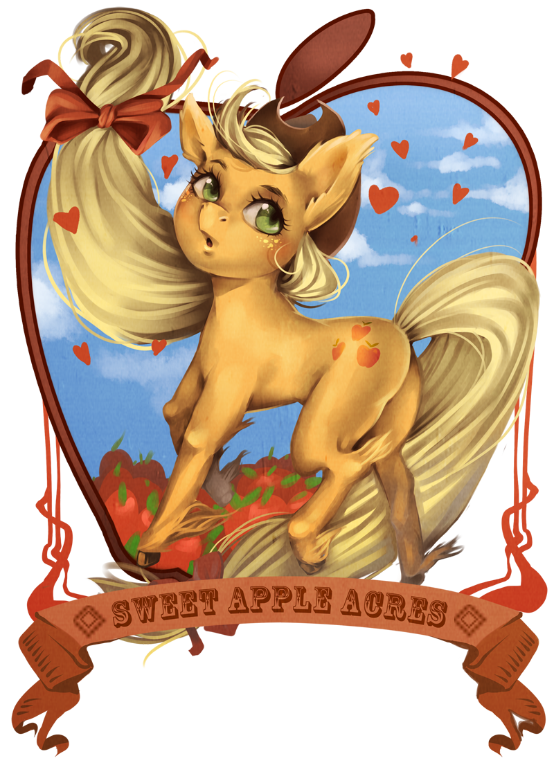 applejack by milkydayy