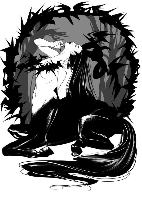 centaur by raspbearyart