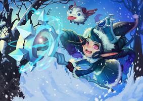 winter wonder lulu by raspbearyart