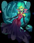 death prophet by raspbearyart
