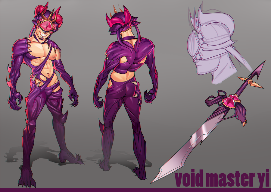 Void Master Yi Concept by raspbearyart
