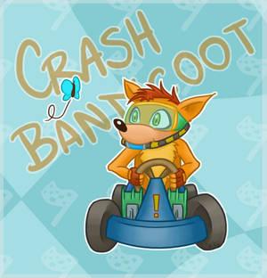 CRASH TEAM RACING - Crash Bandicoot