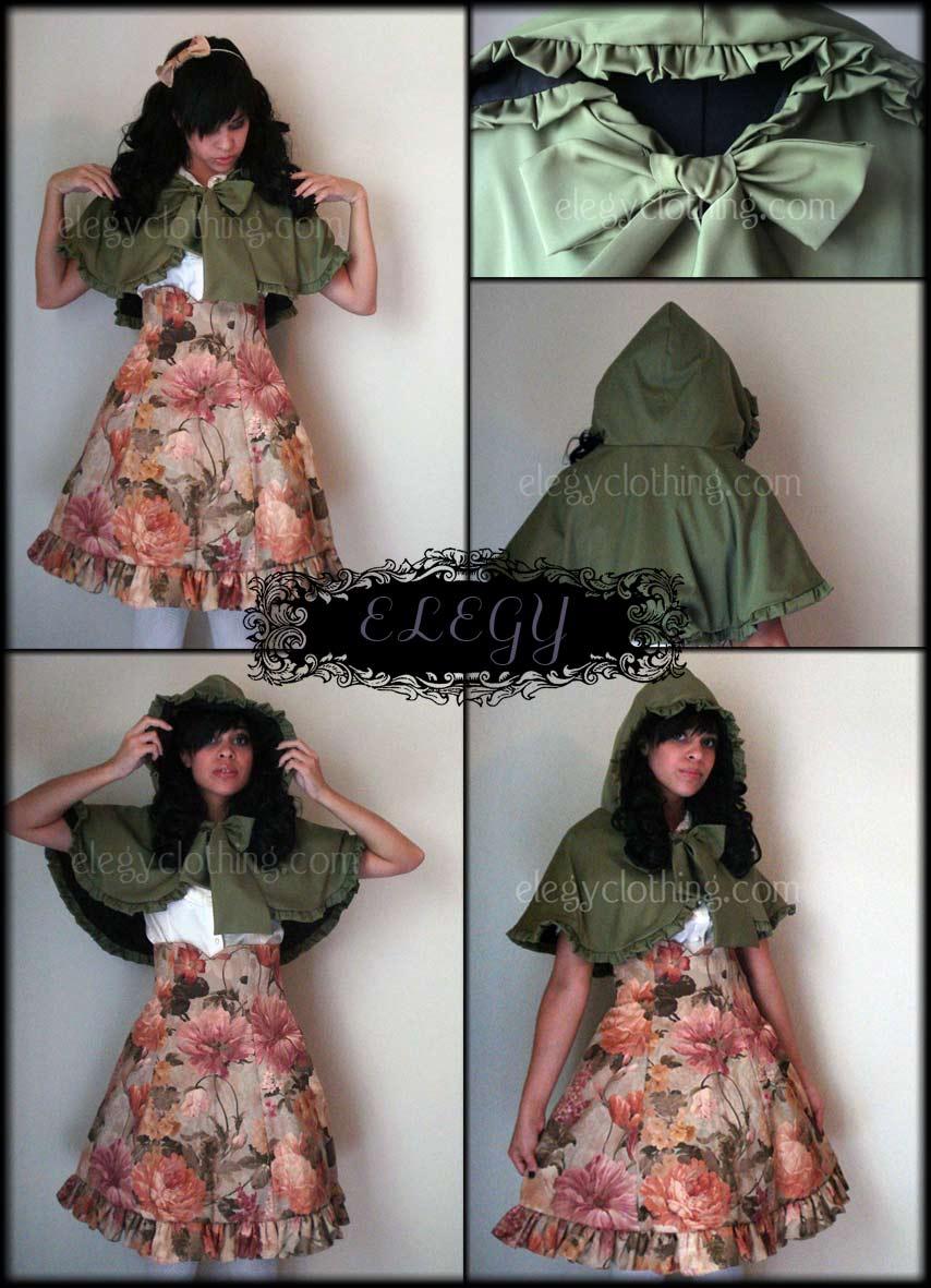 Classic Lolita Capelet by MissChubi