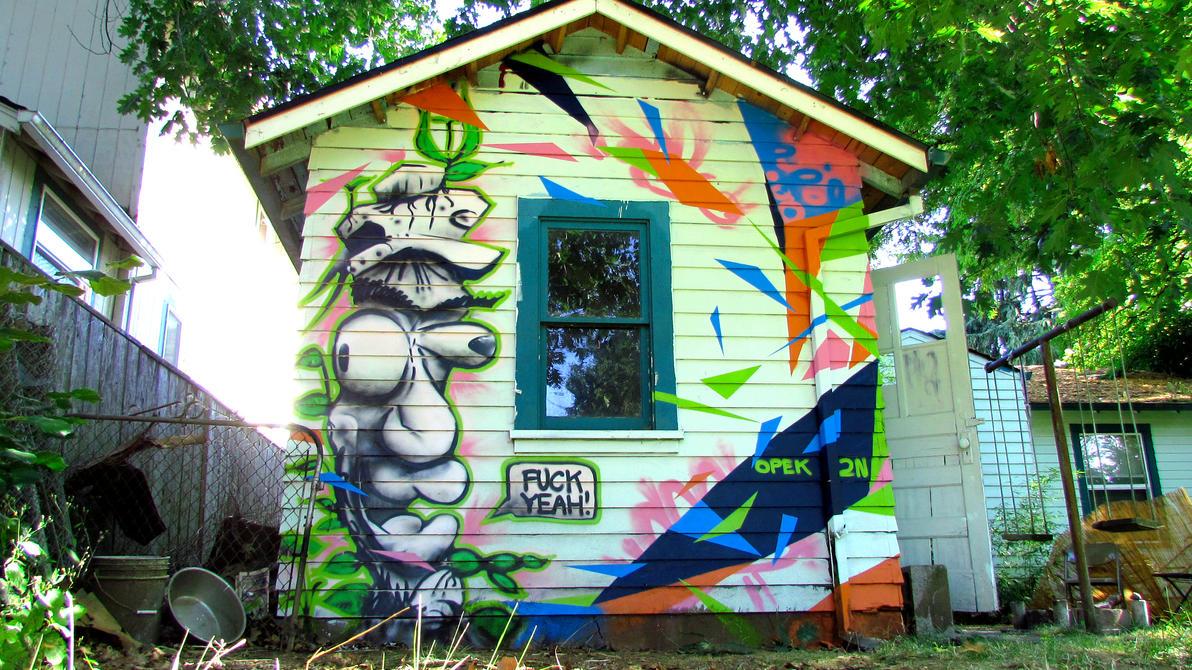 Graffiti Artist Got Hired To Spray Paint Nightclub
