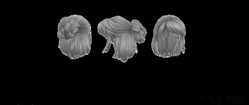 Mmd Pmx Short Hair With Bun Dl By Xxshadowcupcakexx On Deviantart