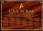 Surak dedication Plaque by XFozzboute