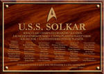 Solkar Dedication Plaque by XFozzboute