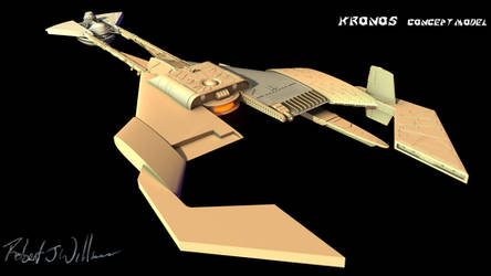 My Version Of Kronos 1 Study Model part 96 by XFozzboute