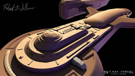 Unnamed Federation Ship part 29 by XFozzboute